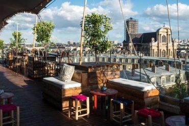 Parigi Bar Le Perchoir Marais
