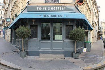 Parigi Ristorante Privé de dessert