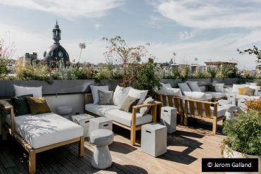 Parigi rooftop hotel national des arts et metiers